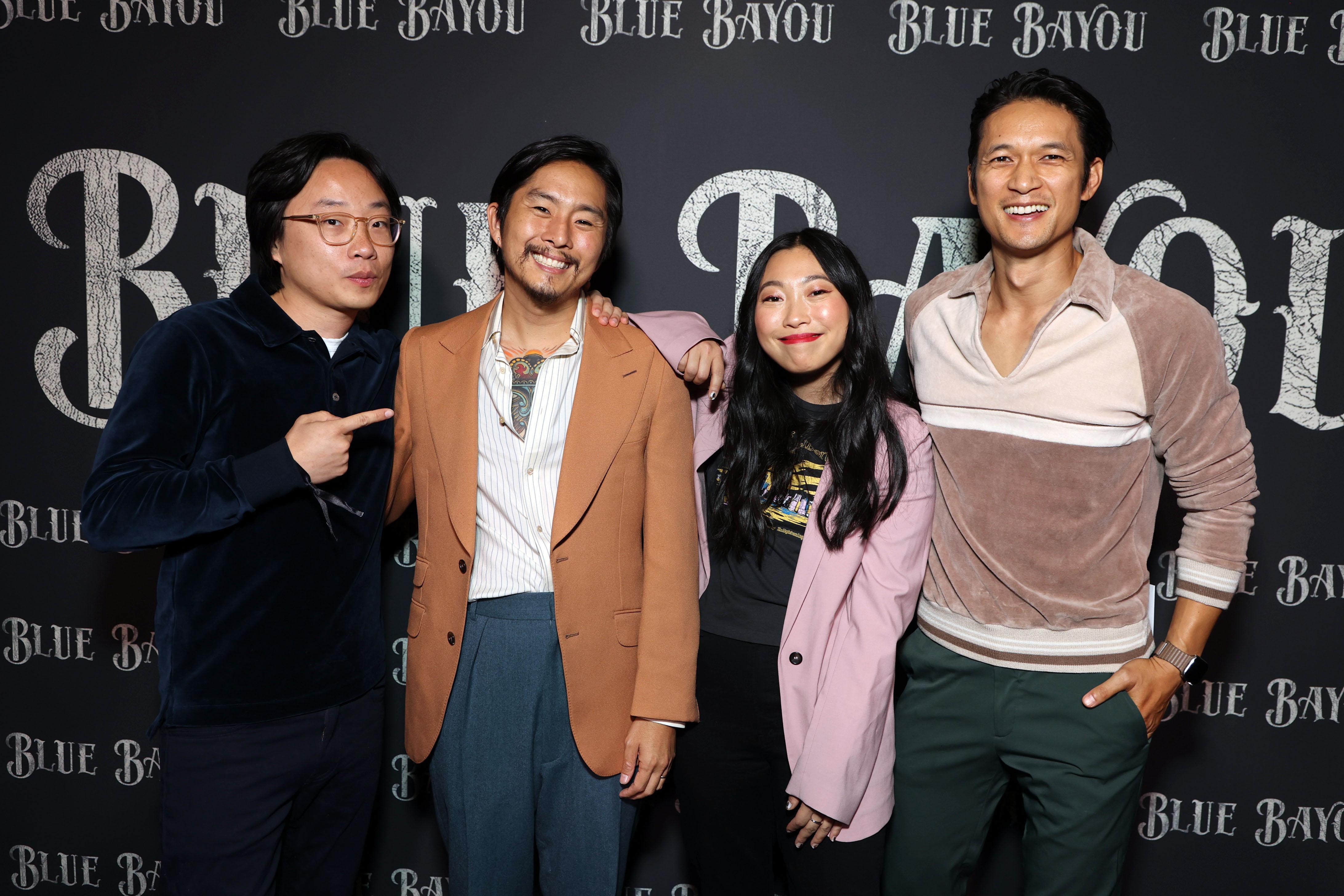 Jimmy O. Yang, Director Justin Chon, Awkwafina and Harry Shum Jr.