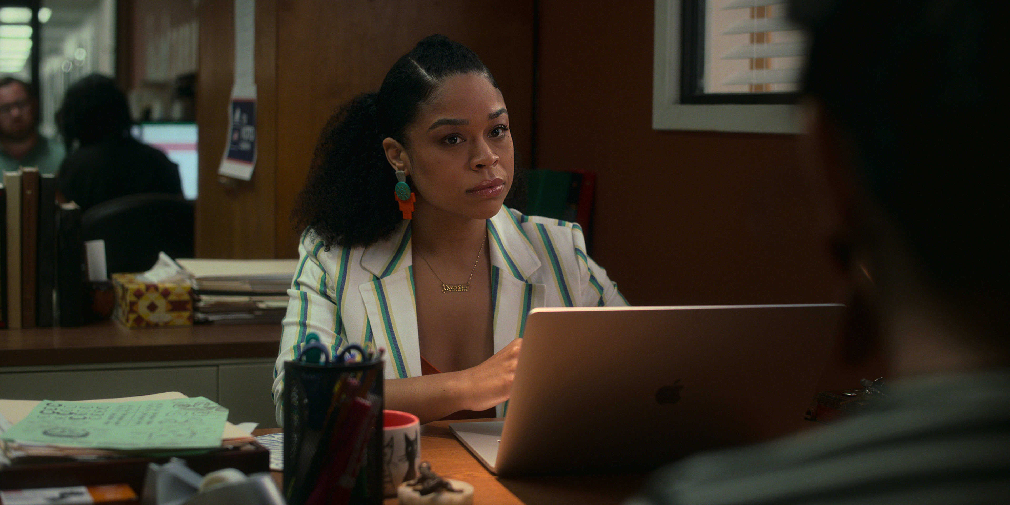 Gentefied Season 2. Julissa Calderon as Yessika. in Gentefied Season 2. COURTESY OF NETFLIX/Netflix © 2021