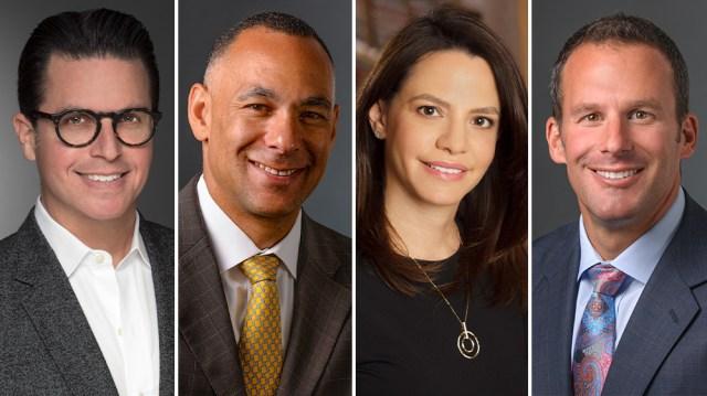 Hollywood Power Lawyers Matthew Johnson, P.J. Shapiro, Gregory Slewett, Tara Kole to Form New Firm.jpg