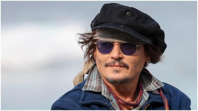 Johnny Depp San Sebastian