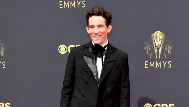 Josh O'Connor Wins Emmy for 'The Crown,' Praises Co-Star Emma Corrin as a 'Force of Nature'.jpg