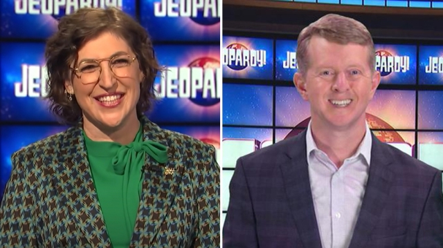 Mayim Bialik, Ken Jennings to Host 'Jeopardy' Through 2021 After Mike Richards' Exit.jpg