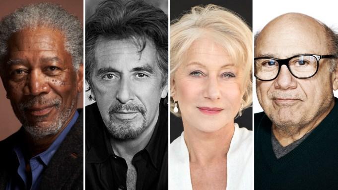 Morgan Freeman Al Pacino Helen Mirren