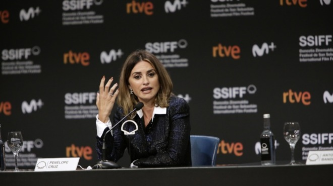 Penelope Cruz Teases Future Collaboration with 'Official Competition' Filmmakers at San Sebastian Press Conference