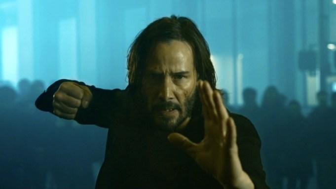 Matrix 4': Keanu Reeves First Look Revealed on Innovative Website - Variety