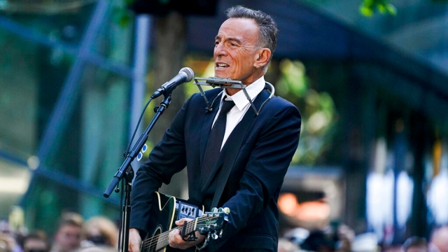 Hollywood Remembers 9/11: Bruce Springsteen Performs at 20th Anniversary Memorial as Mariah Carey, Reese Witherspoon Post Twitter Tributes.jpg