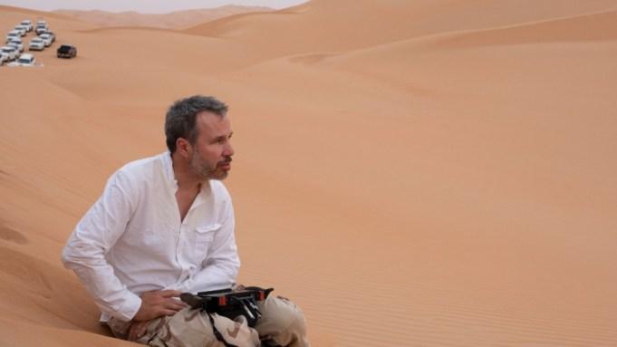 Denis Villeneuve in Abu Dhabi Desert