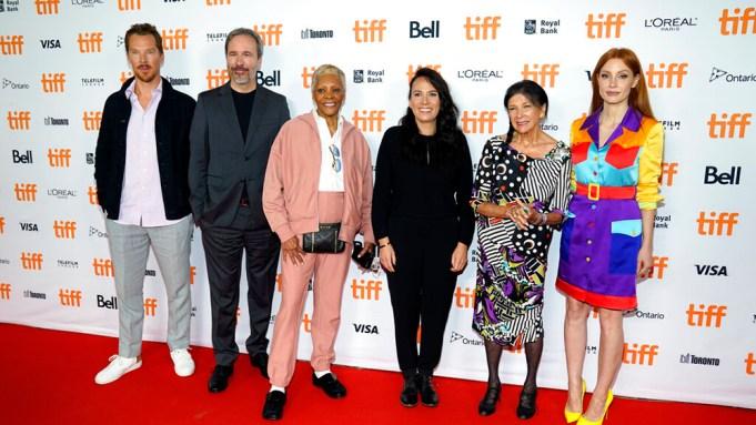 TIFF Tribute Award honourees, from left,