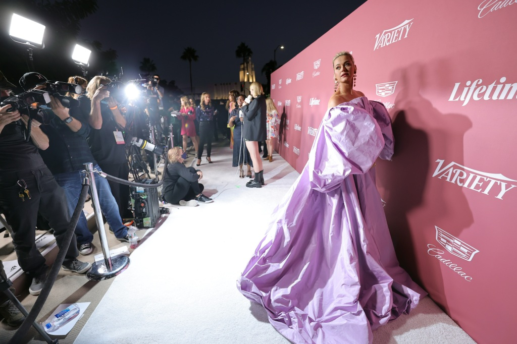 BEVERLY HILLS, CALIFORNIA - SEPTEMBER 30: Katy Perry attends Variety's Power of Women Presented by Lifetime at Wallis Annenberg Center for the Performing Arts on September 30, 2021 in Beverly Hills, California. (Photo by Emma McIntyre/Getty Images for Variety)