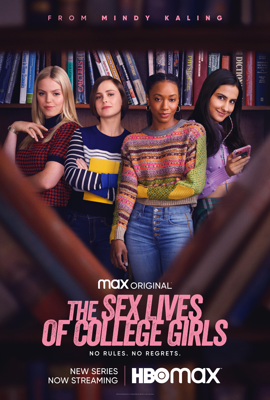 Sex Lives of College Girls Key Art