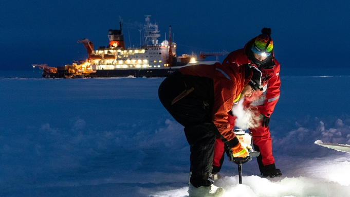Arctic Drift: A Year in the Ice