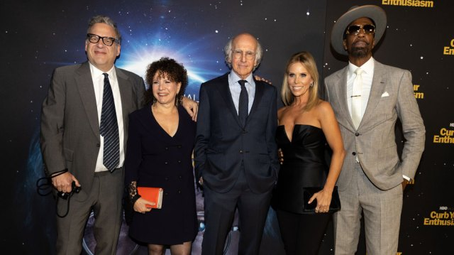 Larry David Says Working on 'Curb Your Enthusiasm' Is 'Way More Cathartic' Than Seeing a Therapist.jpg