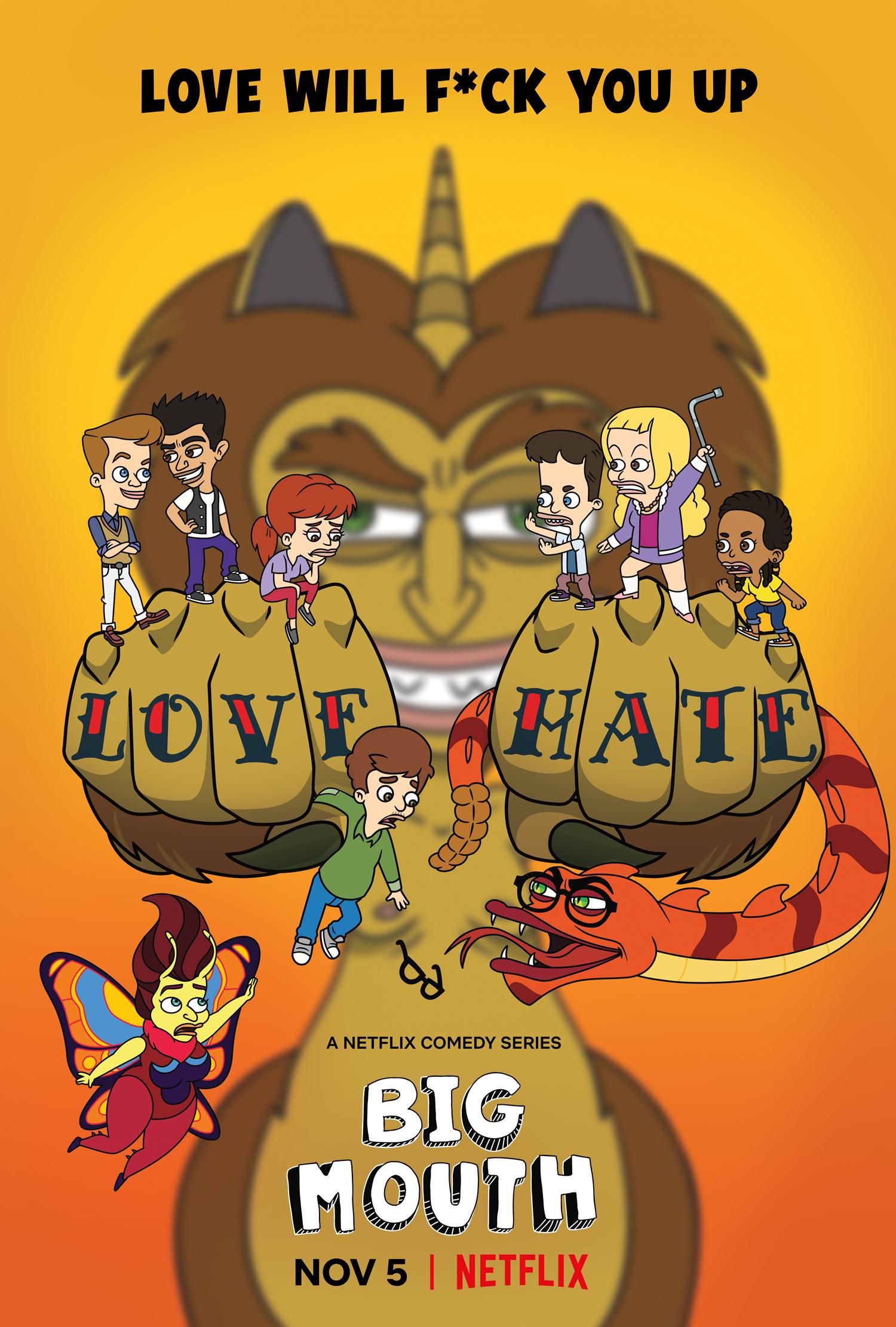 Big Mouth Season 5 Key Art