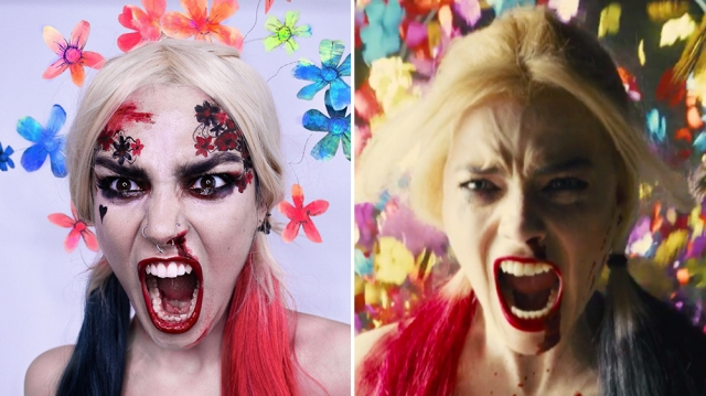 Harley Quinn Makeup Tutorial: How to Recreate Her 'Suicide Squad' Look For Halloween.jpg