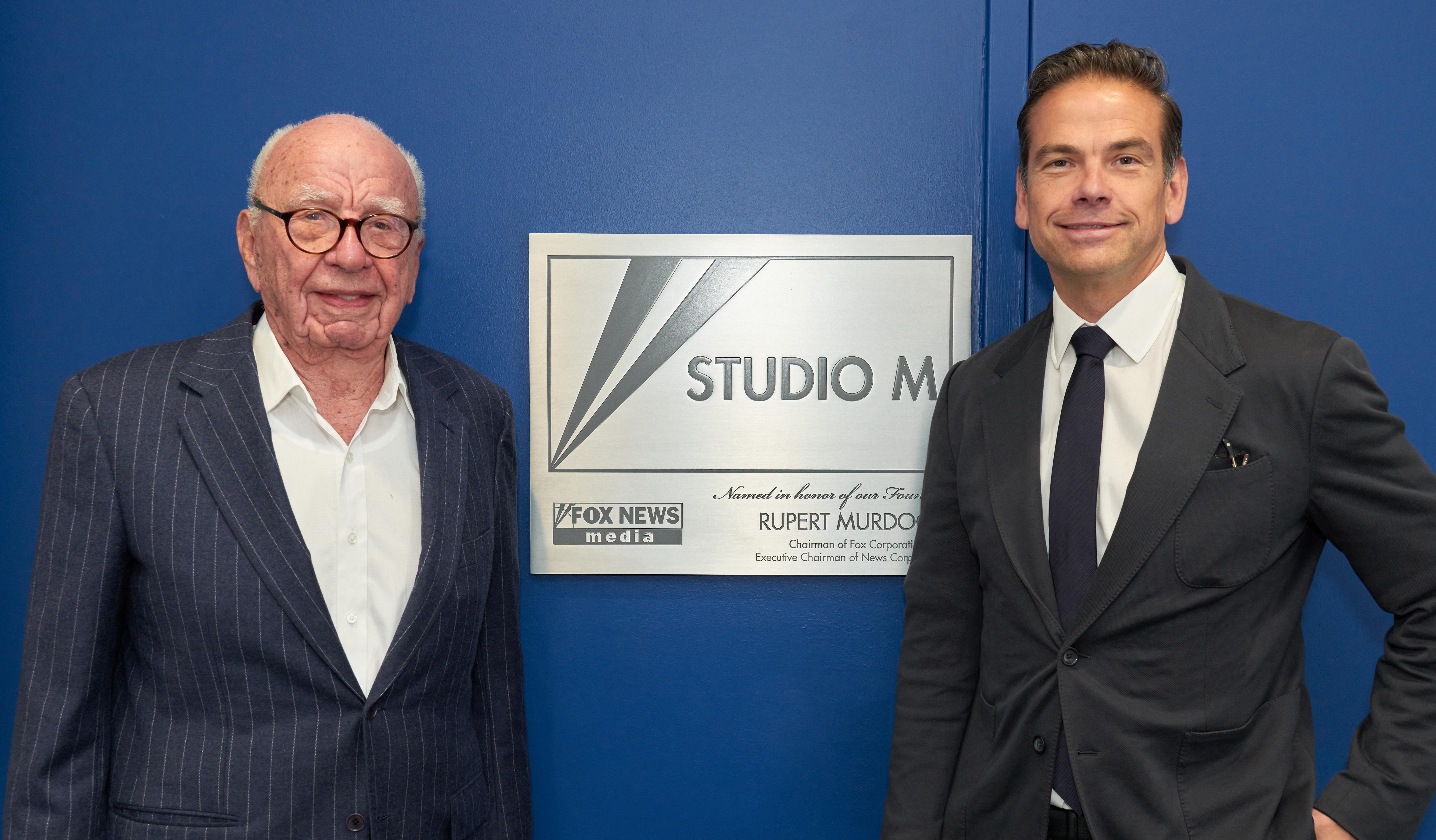 Fox News Channel Dedicates Studio to Rupert Murdoch