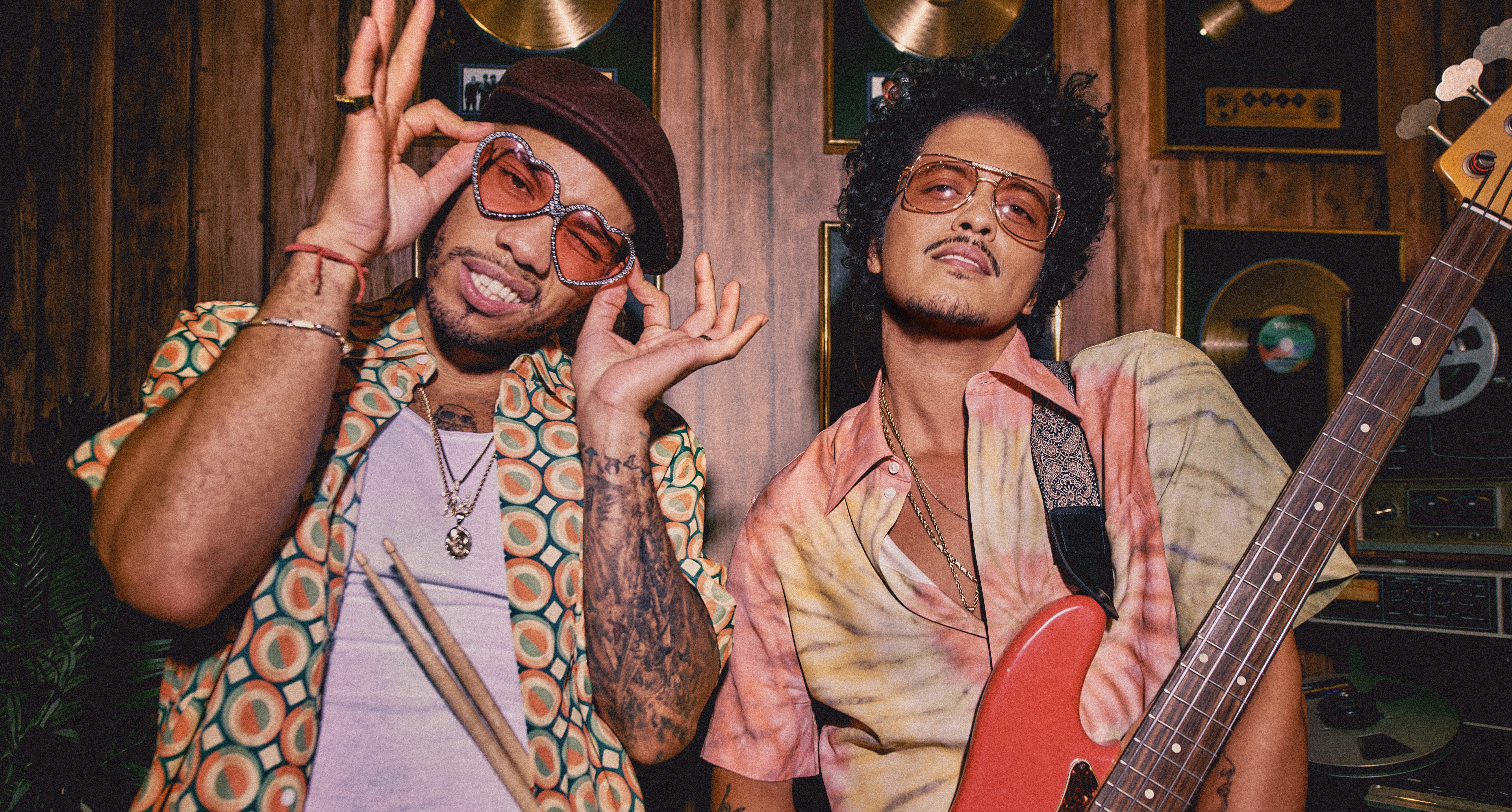 Bruno Mars and Anderson Paak Announce Album Release Date for 'An Evening With Silk Sonic'