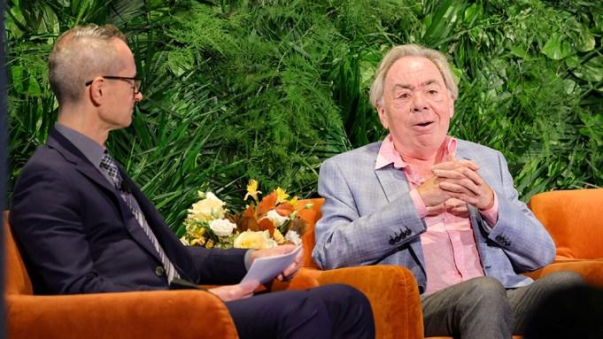 Variety Broadway Panel Andrew Lloyd Webber