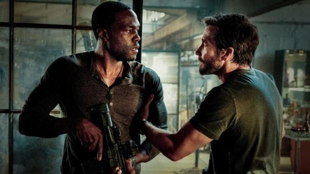 Jake Gyllenhaal, Yahya Abdul-Mateen II Are Bank Robbers on the Run in Explosive Trailer for Michael Bay's 'Ambulance'.jpg