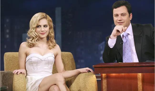 Brittany Murphy on Jimmy Kimmel Live!