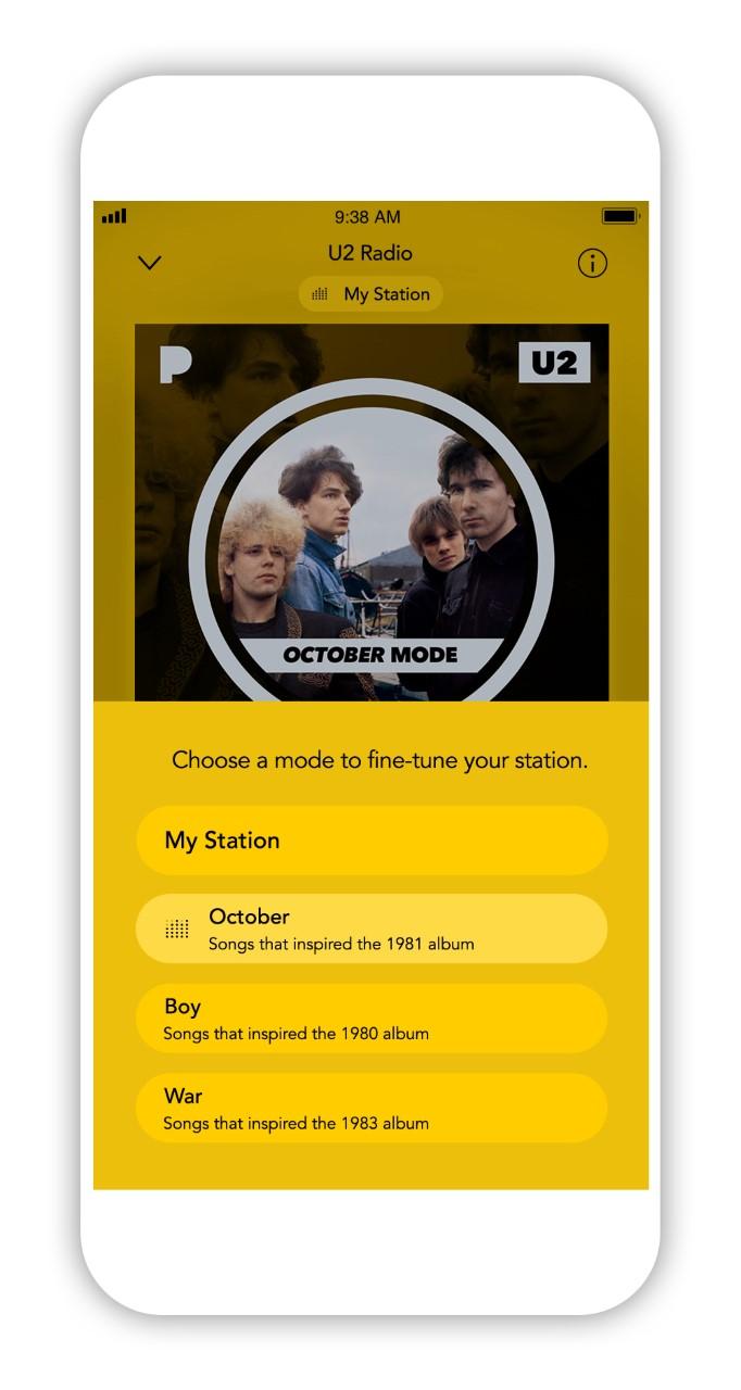 U2 Pandora